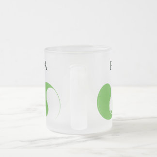 Proud to be VEGAN Frosted Glass Coffee Mug