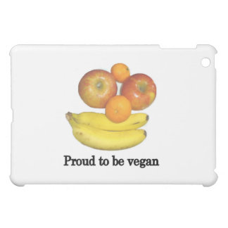 Proud to be vegan iPad mini cover