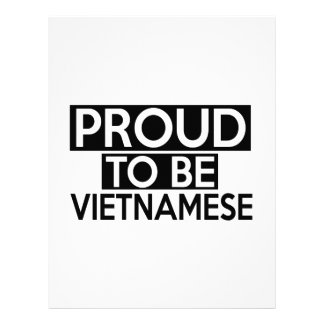 PROUD TO BE VIETNAMESE LETTERHEAD