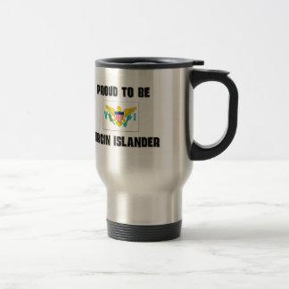 Proud To Be VIRGIN ISLANDER 15 Oz Stainless Steel Travel Mug