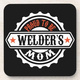 Proud To Be Welder's Mom Coaster