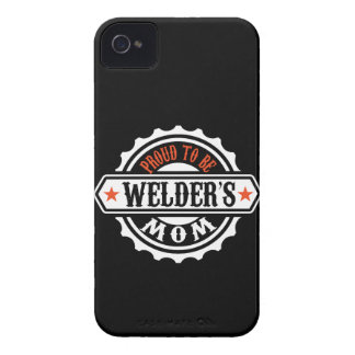Proud To Be Welder's Mom iPhone 4 Cover