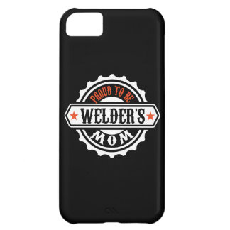 Proud To Be Welder's Mom iPhone 5C Cover