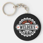 Proud To Be Welder's Mom Keychain