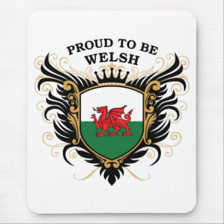 Proud to be Welsh Mouse Pad