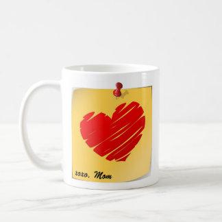 """Proud to be your Mom"" mug"