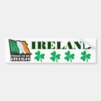 Proud-to-beIRISH Bumper Sticker