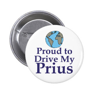 Proud to Drive my Prius Pinback Button