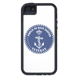 Proud To property Served royal Navy veteran iPhone 5 Cover