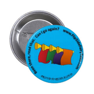 Proud to Read Aloud Pin