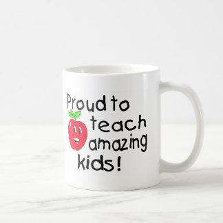 Proud To Teach Amazing Kids (Apple) Coffee Mug