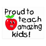 Proud To Teach Amazing Kids! Postcards