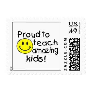 Proud To Teach Amazing Kids! Stamps