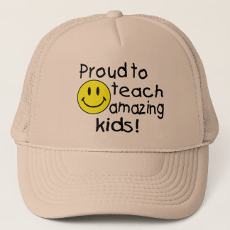 Proud To Teach Amazing Trucker Hat