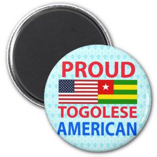 Proud Togolese American Refrigerator Magnet