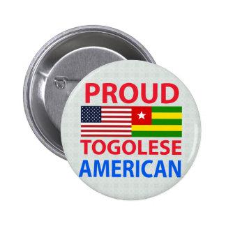 Proud Togolese American Pin