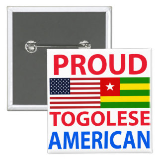Proud Togolese American Pins