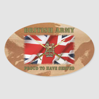 Proud ton have served ...... UK Stickers