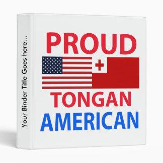 Proud Tongan American Binder