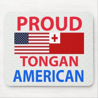 Proud Tongan American Mouse Pad