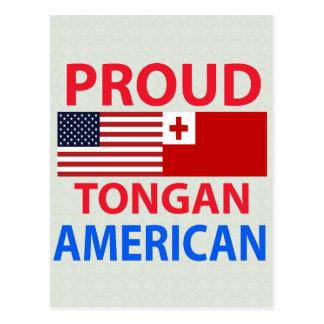 Proud Tongan American Postcard