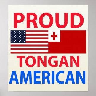 Proud Tongan American Poster