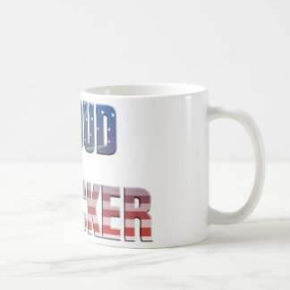 proud tons of BE A of the trucker USA flag more tr Coffee Mug
