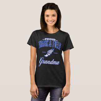 Proud Track & Field Grandma T-Shirt (USA)