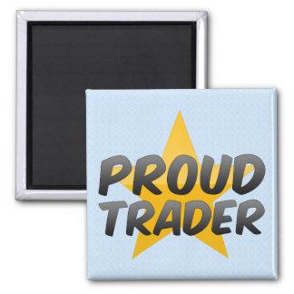 Proud Trader Refrigerator Magnets