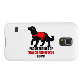 Proud Trainer of Search and Rescue Service Dogs Galaxy S5 Cover