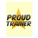 Proud Trainer Postcard