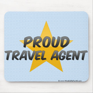 Proud Travel Agent Mouse Pad