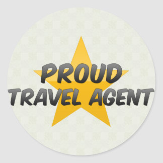 Proud Travel Agent Stickers