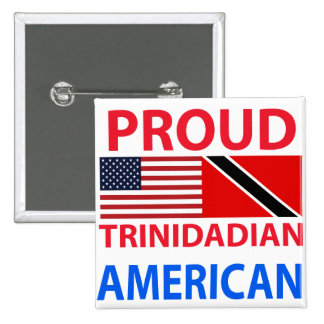 Proud Trinidadian American Button
