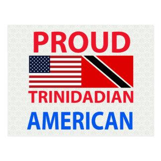 Proud Trinidadian American Postcard
