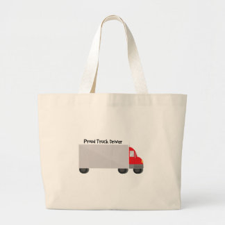 Proud Truck Driver Tote Bags