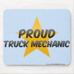 Proud Truck Mechanic Mouse Pad