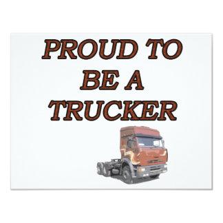 PROUD TRUCKER CARD