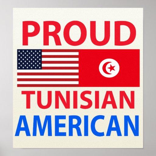 Proud Tunisian American Poster