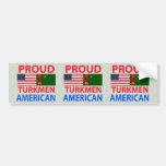 Proud Turk American Car Bumper Sticker