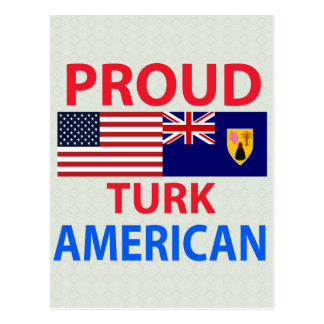 Proud Turk American Post Cards