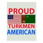 Proud Turk American Postcard