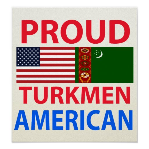 Proud Turk American Print