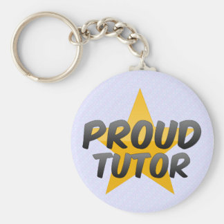 Proud Tutor Keychain