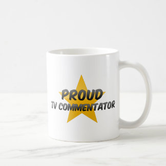 Proud Tv Commentator Coffee Mug