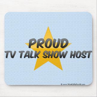 Proud Tv Talk Show Host Mouse Pad
