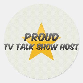 Proud Tv Talk Show Host Stickers