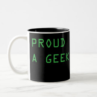 PROUD Two-Tone COFFEE MUG