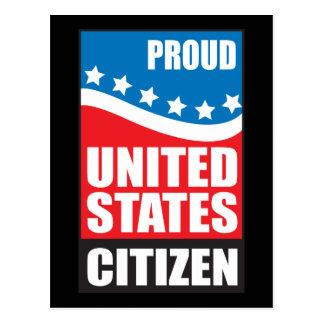 Proud U.S. Citizen Postcard