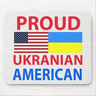 Proud Ukranian American Mouse Pad